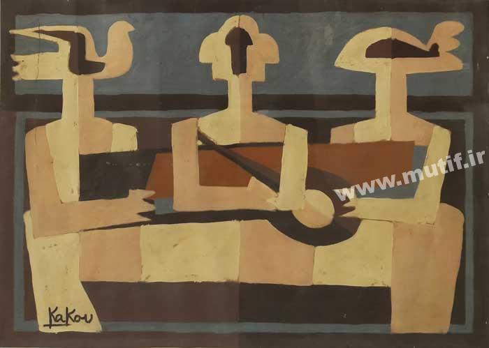 اثر نقاشی محمد علی شیوایی کاکو