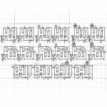 آموزش طراحی فونت فارسی با نرم افزار Font Creator