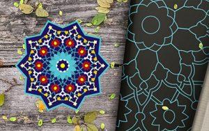 شمسه مسجد جامع ورامین